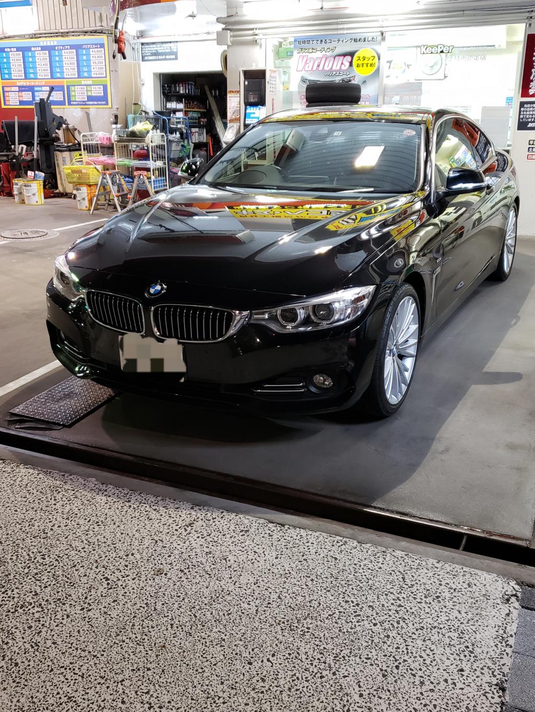 BMW BMW 4シリーズ フェンダー へこみ