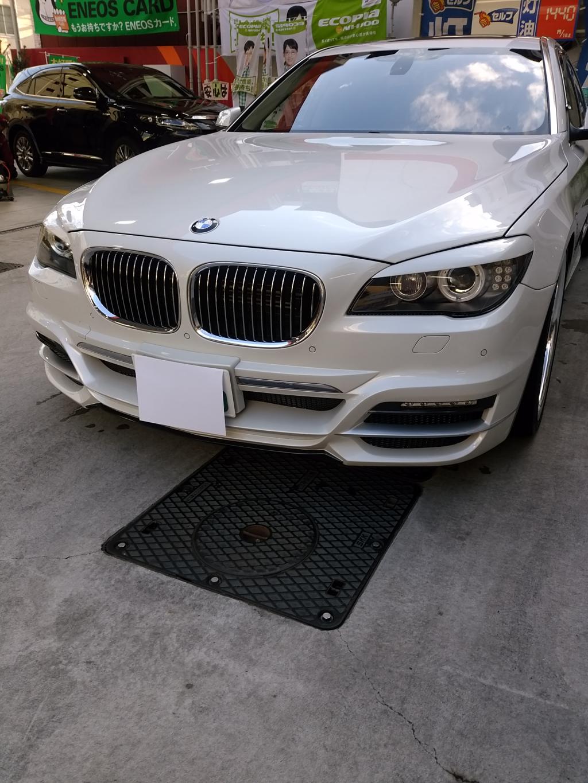 BMW BMW 7シリーズ ハッチバック へこみ