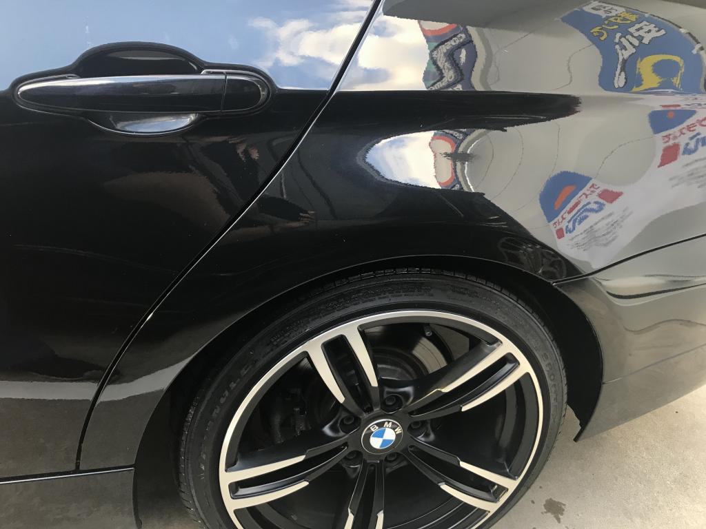 BMW 3シリーズ 線キズ修理後