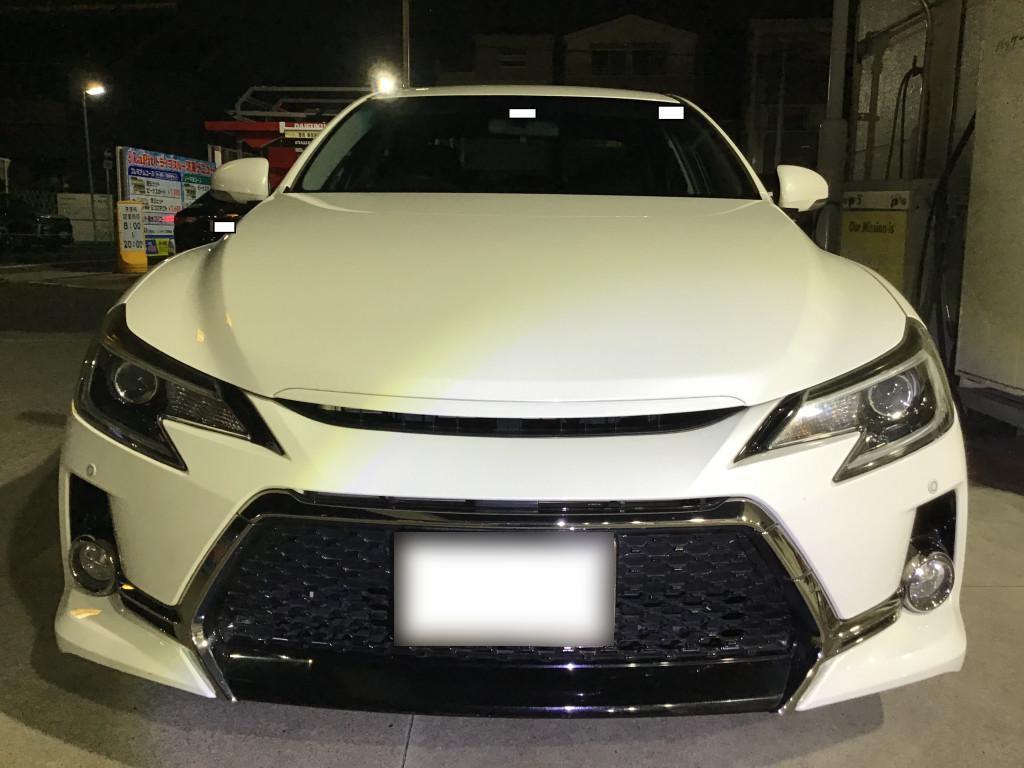 トヨタ マークX ステップ エグレ