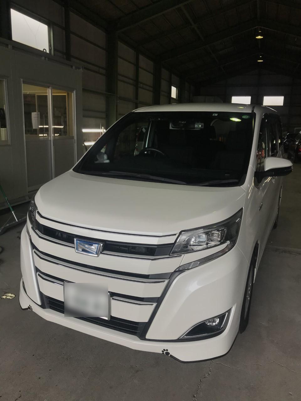 トヨタ ノア バンパー エグレ
