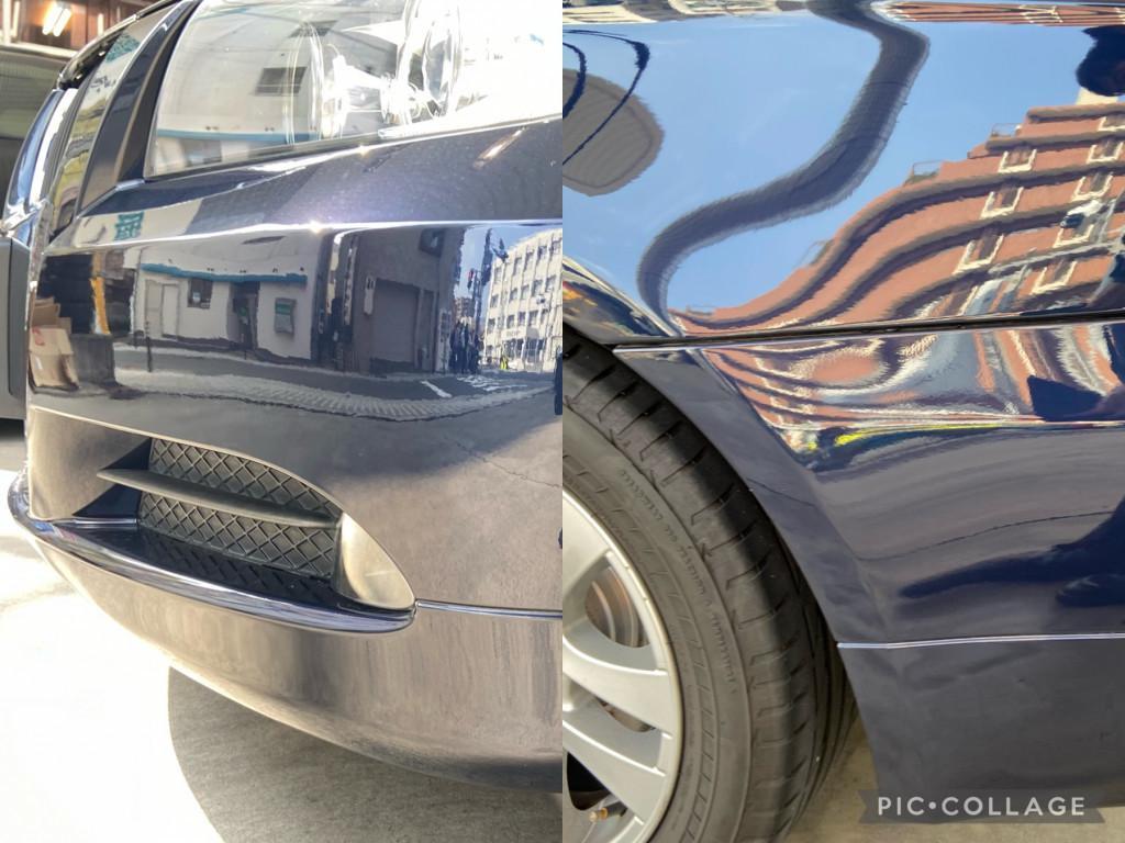 BMW 3シリーズ エグレ修理後