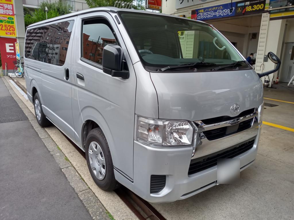 トヨタ ハイエースバン バンパー エグレ
