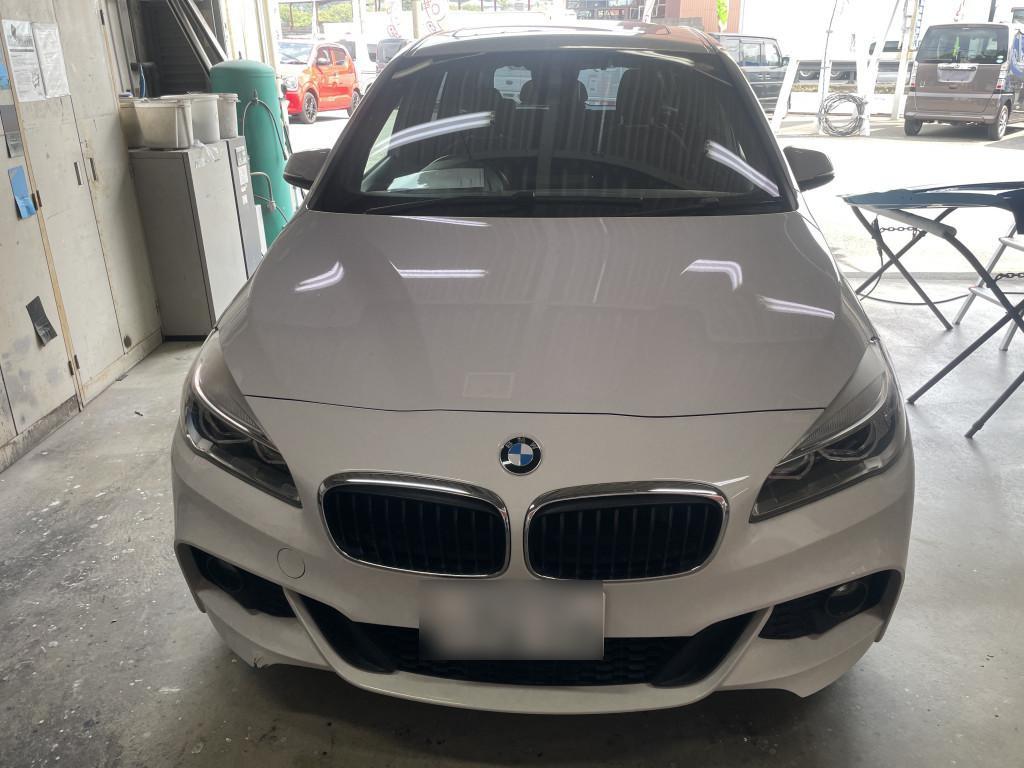 BMW BMW 2シリーズ バンパー へこみ