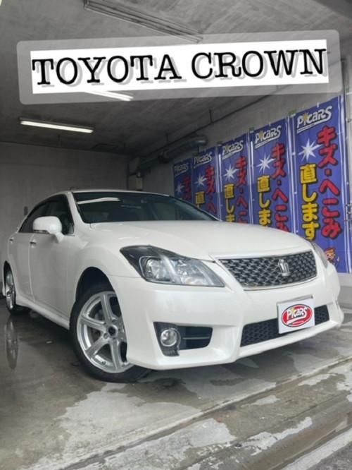 トヨタ クラウン ステップ 線キズ