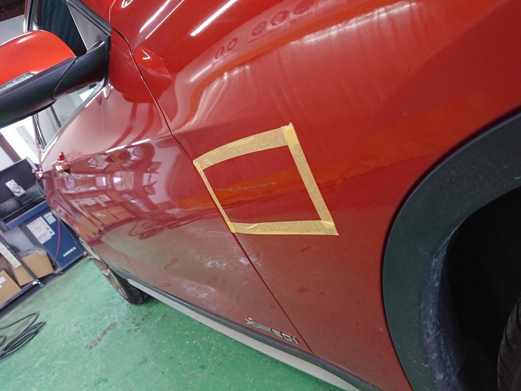 BMW BMW X1 フェンダー へこみ