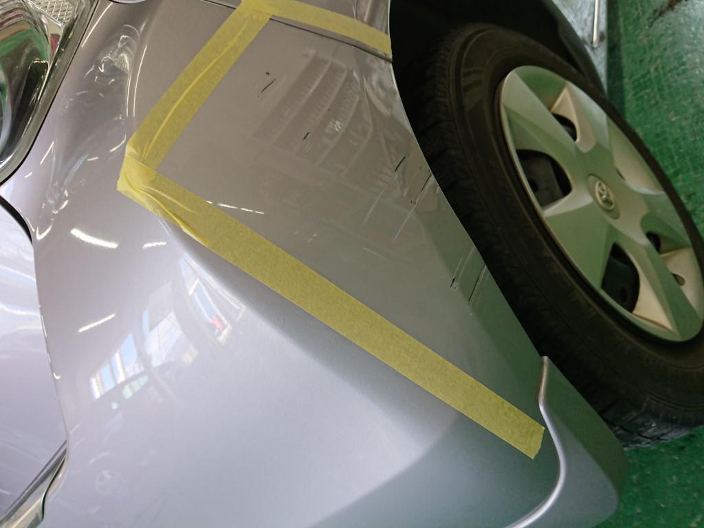 トヨタ パッソ バンパー エグレ