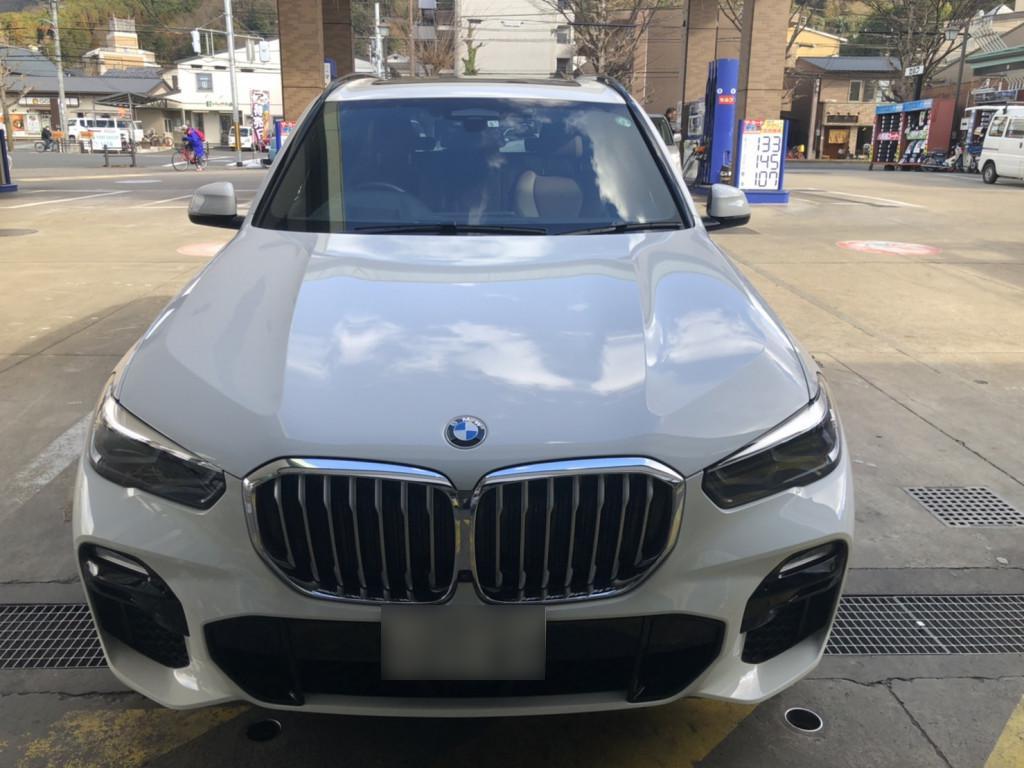 BMW BMW X5 フェンダー へこみ