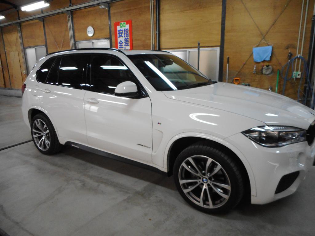 BMW BMW X5 バンパー へこみ