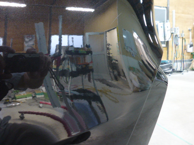 BMW X4 へこみ修理前