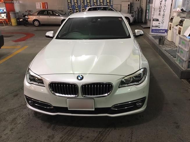 BMW BMW 5シリーズ バンパー 線キズ