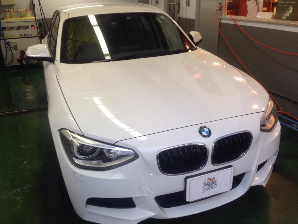 BMW BMW 1シリーズ フェンダー 線キズ