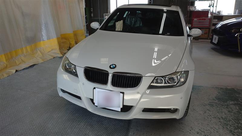 BMW BMW M3 フェンダー へこみ