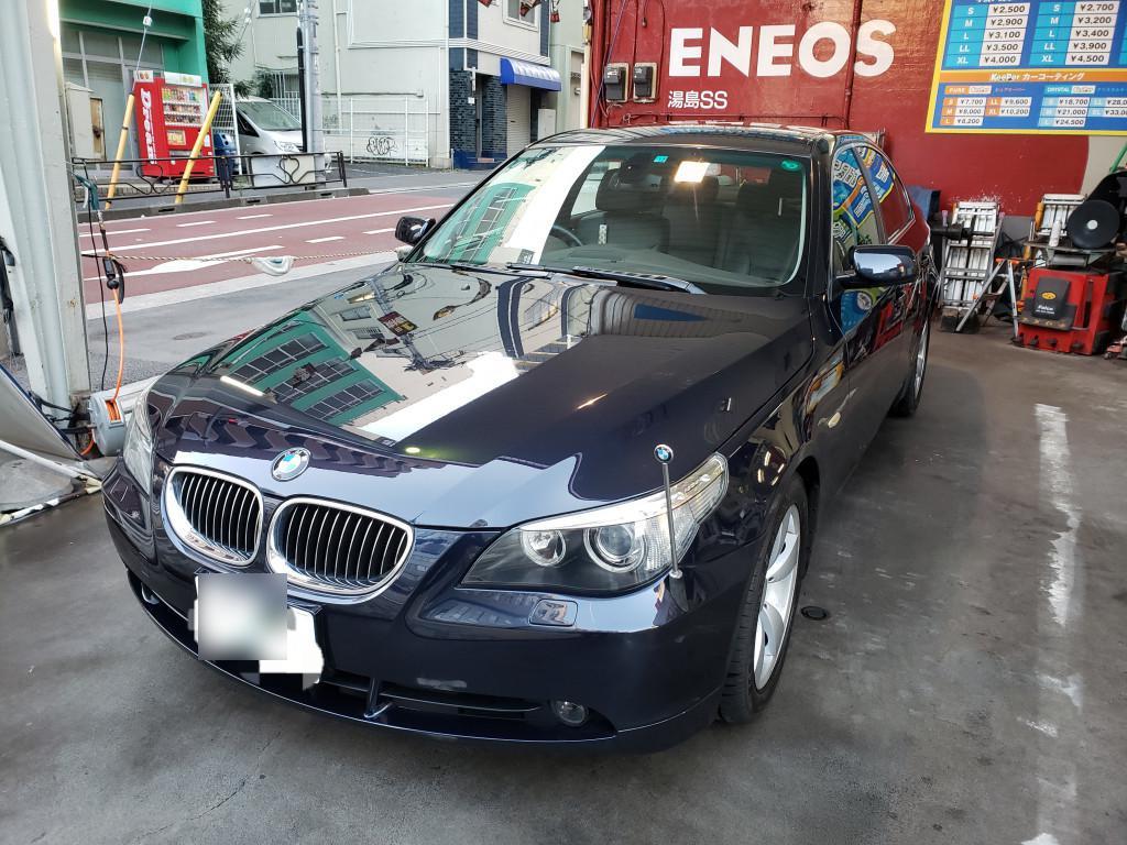 BMW BMW 5シリーズ フェンダー へこみ