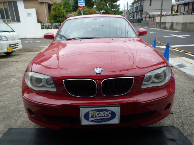 BMW BMW 1シリーズ ドアミラー 線キズ