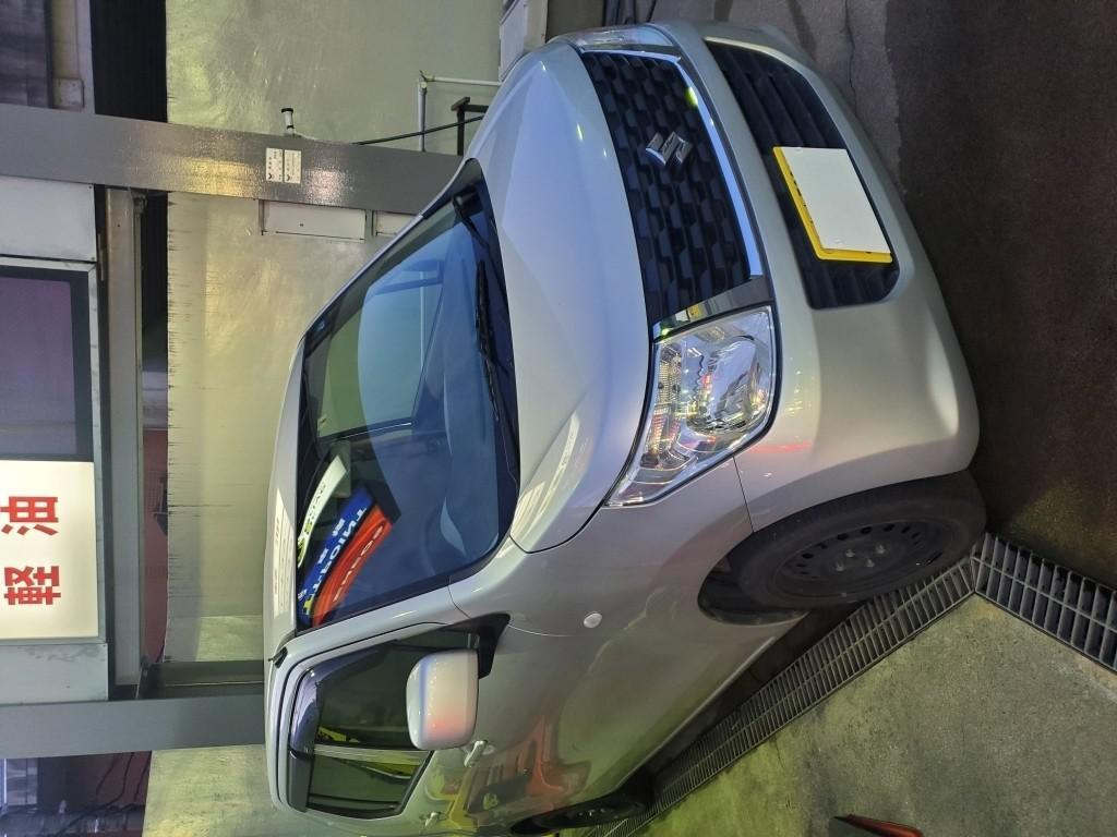 スズキ ワゴンR バンパー エグレ