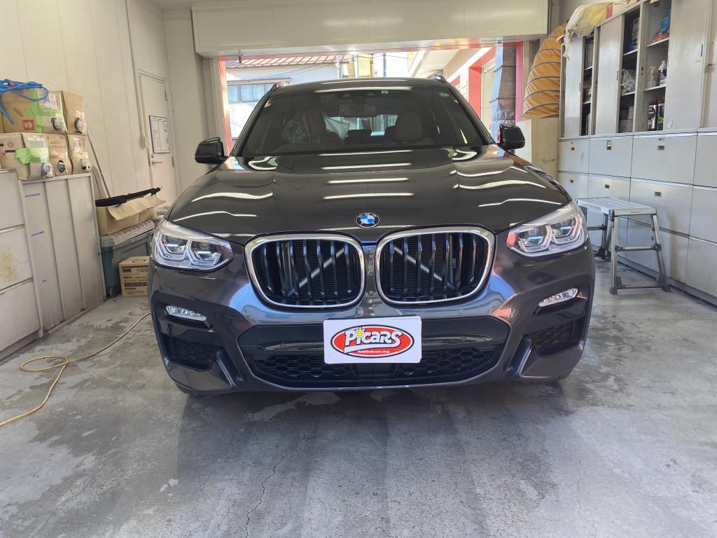 BMW BMW X3 ハッチバック 線キズ