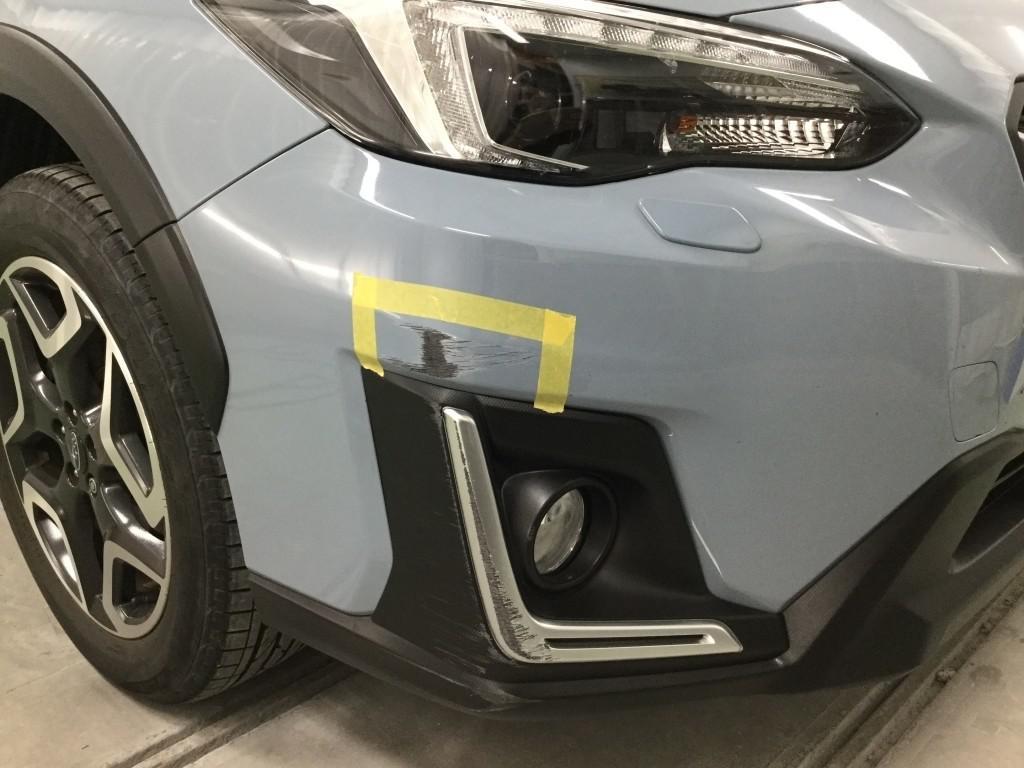 スバル インプレッサXV バンパー エグレ
