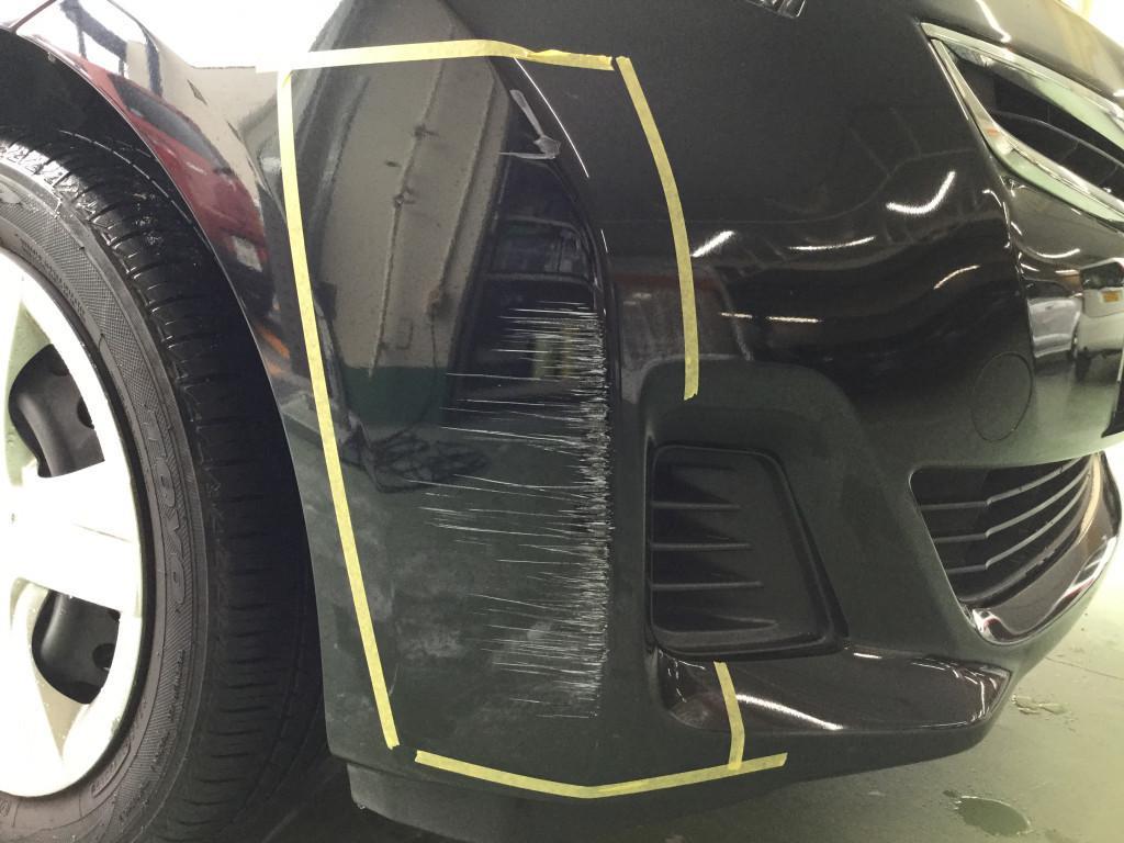 トヨタ ラクティス バンパー エグレ