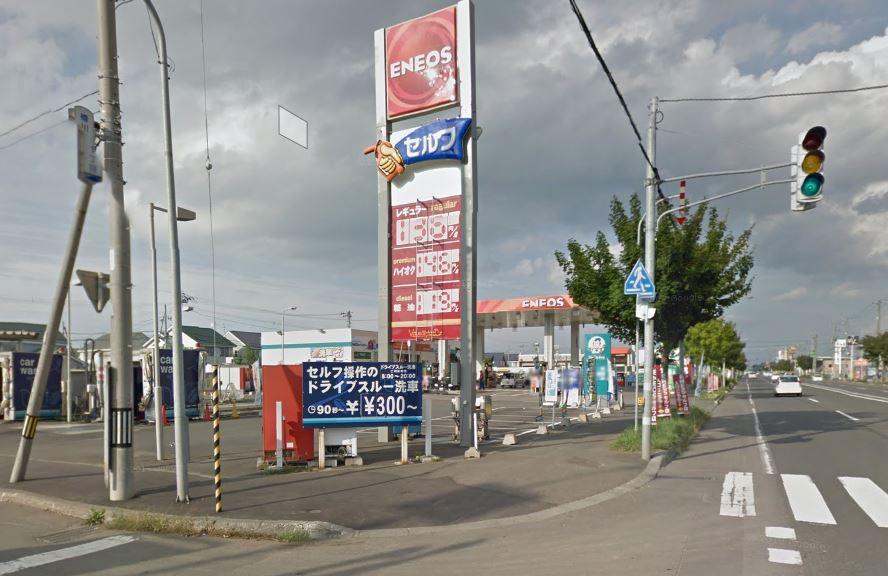 ピッカーズ石狩花川店外観